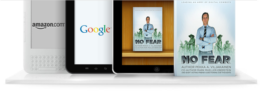 Amazon, Apple App Store and Google bookstores